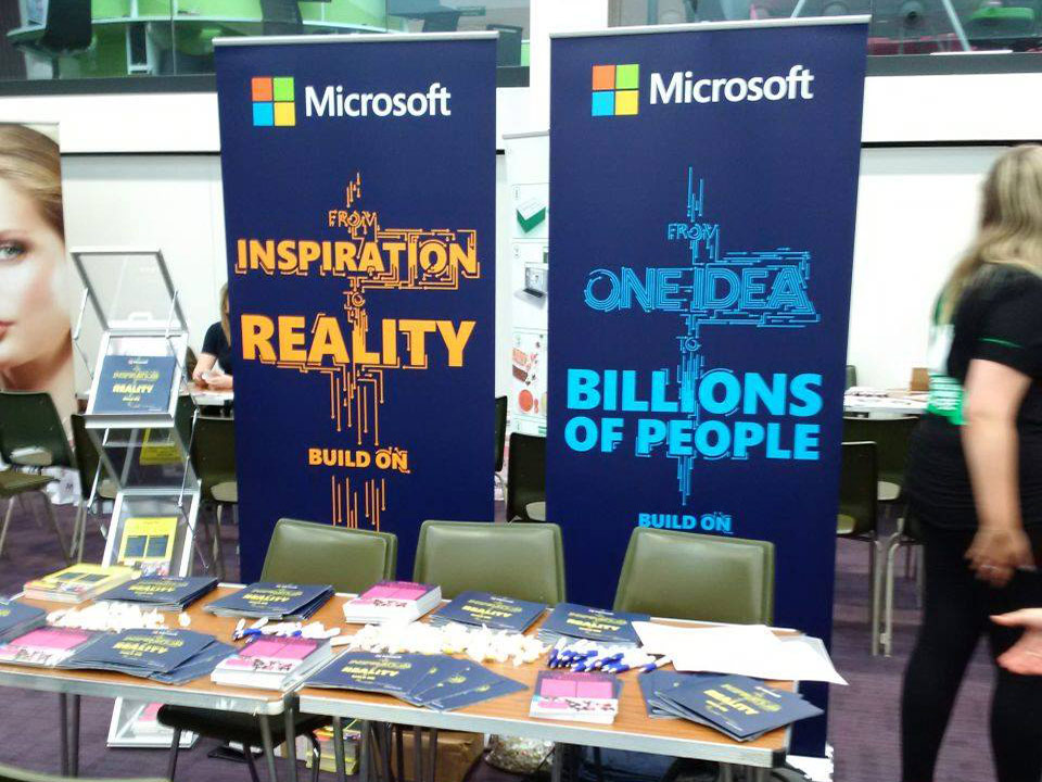 Portable Exhibition Stands : Recruitment fair installs by welcome displays design
